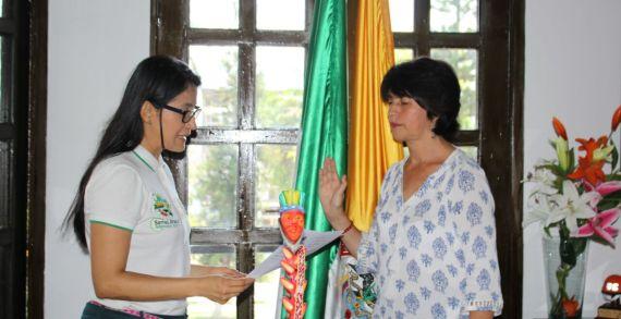 Gobernadora posesionó Gerente Departamental de la Contraloría