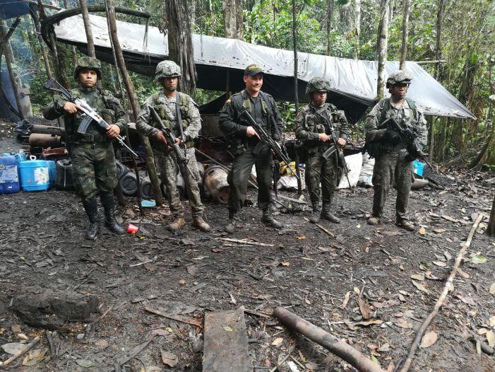 Destruidos laboratorios de insumos de cocaína en el Putumayo