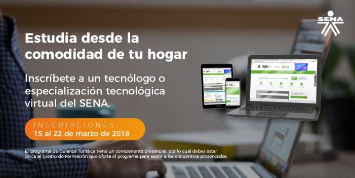 SENA ofrece más de 18 mil cupos para programas tecnológicos y especializaciones tecnológicas