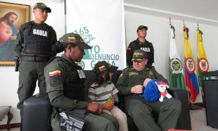 Rescatan menor secuestrado en Tuquerres