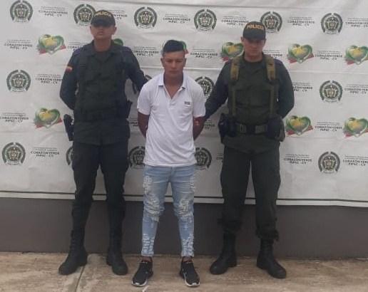 En el Putumayo, capturada hombre requerido mediante circular azul de la Interpol