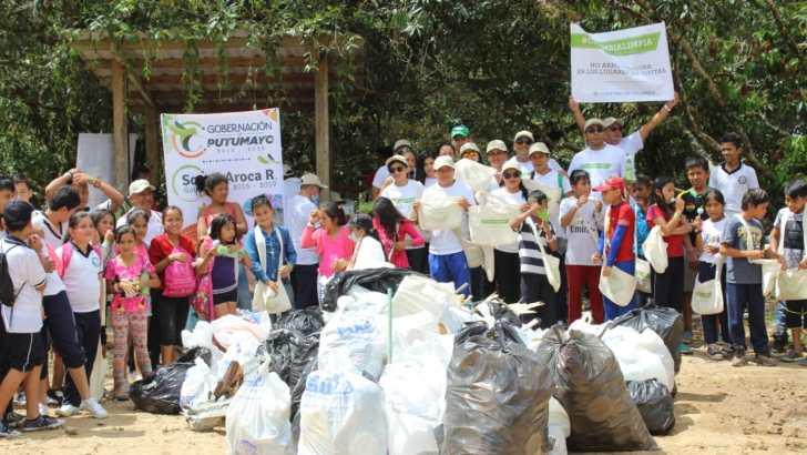 Gobernación presente en campaña 'Colombia Limpia'