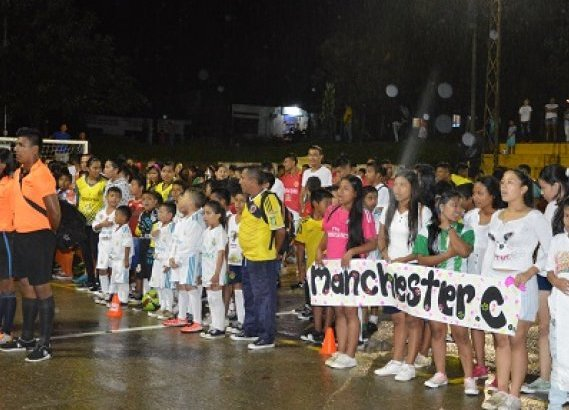 Apertura campeonato municipal de futsal en Puerto Leguízamo, Putumayo