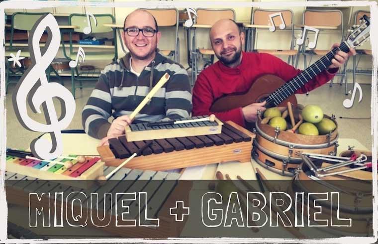 Miquel Mariano y Gabriel Segui