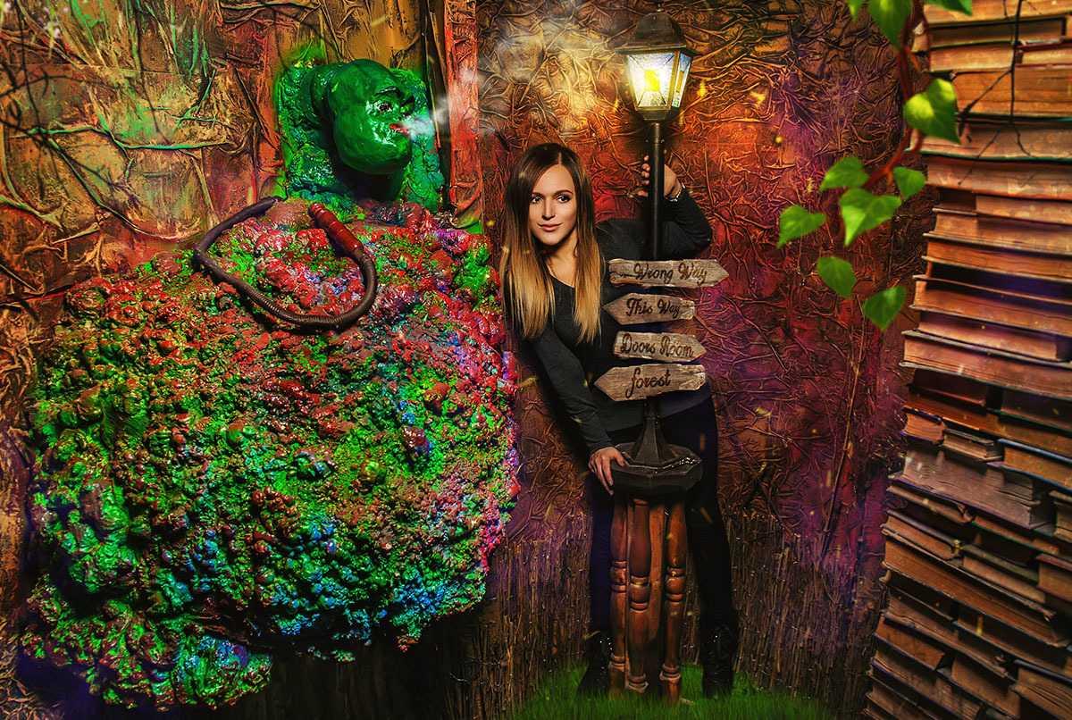 Квест в реальности «Алиса» в Москве от «Кубиринт»