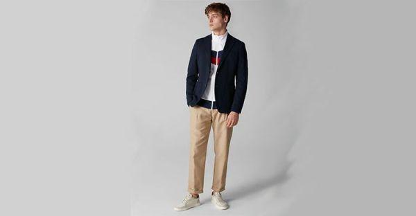 Какого цвета пиджак подойдет к синим джинсам ...