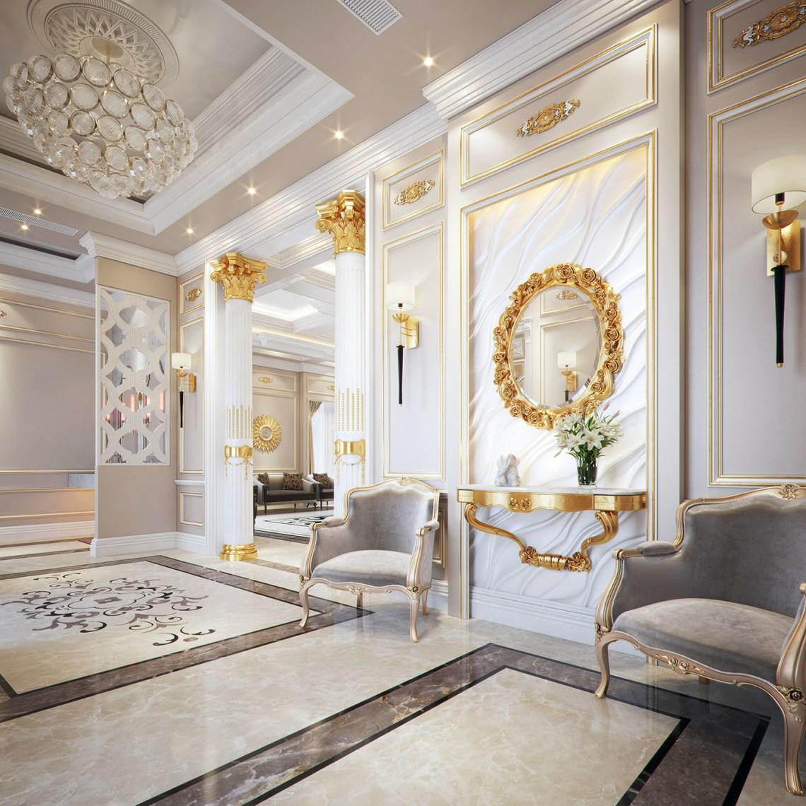 Classic Style Villa on Behance