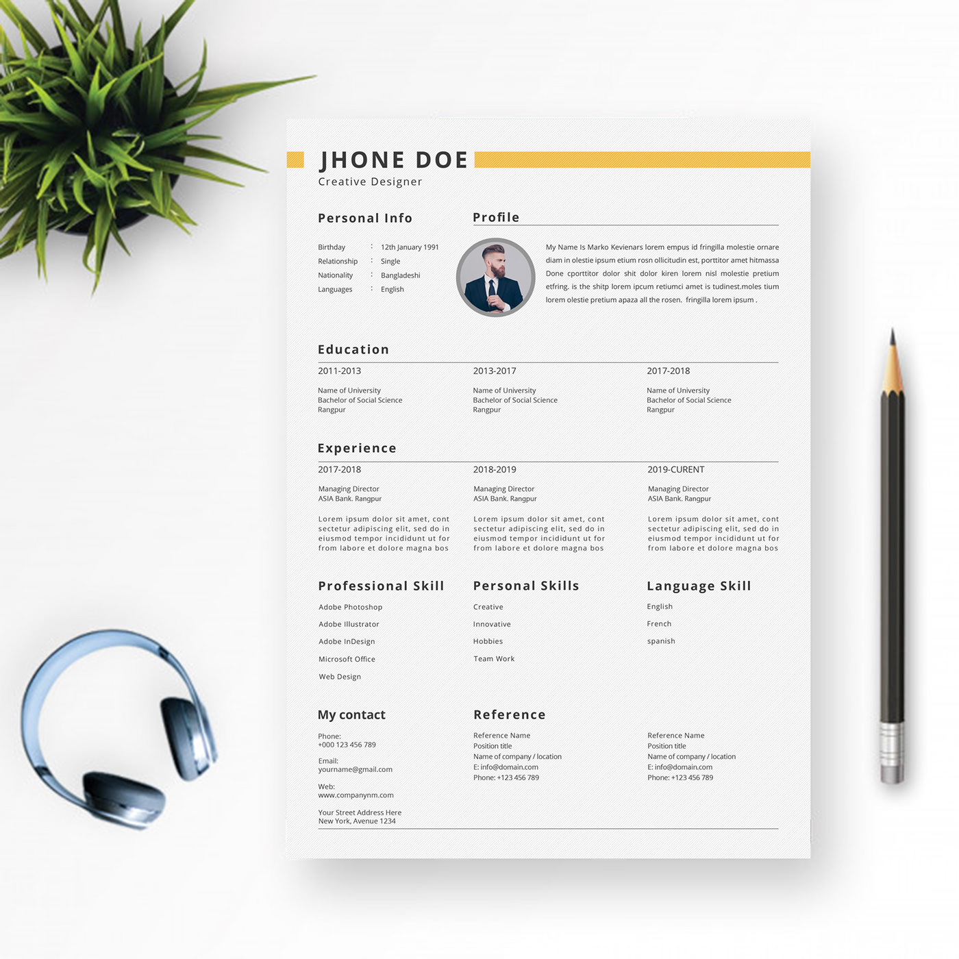 Your situation is unique perhaps you're interested in changing careers and are unsure how to show off your transferable skills for a new industry. Creative Clean Professional Resume Writing On Behance
