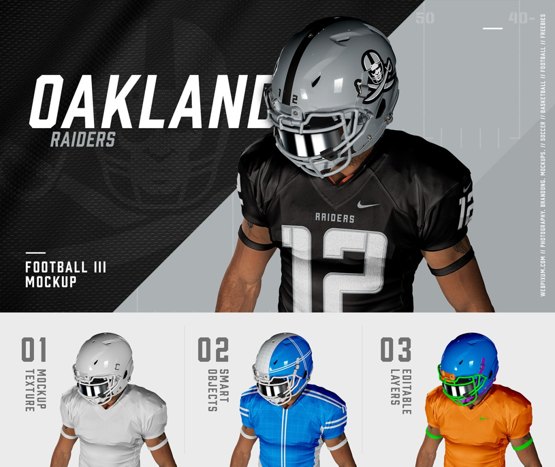 Download NFL Football Mockups - PSDs + 10 Sports Design Tips on Behance