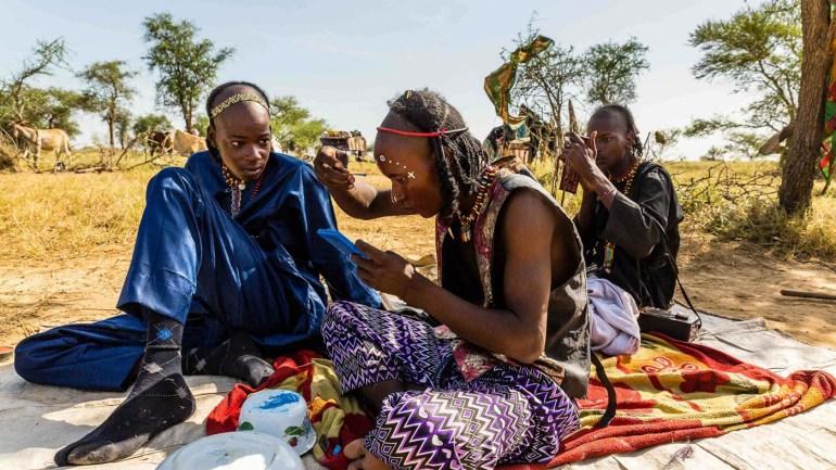 The Gerewol Festival, Male's unique beauty contest