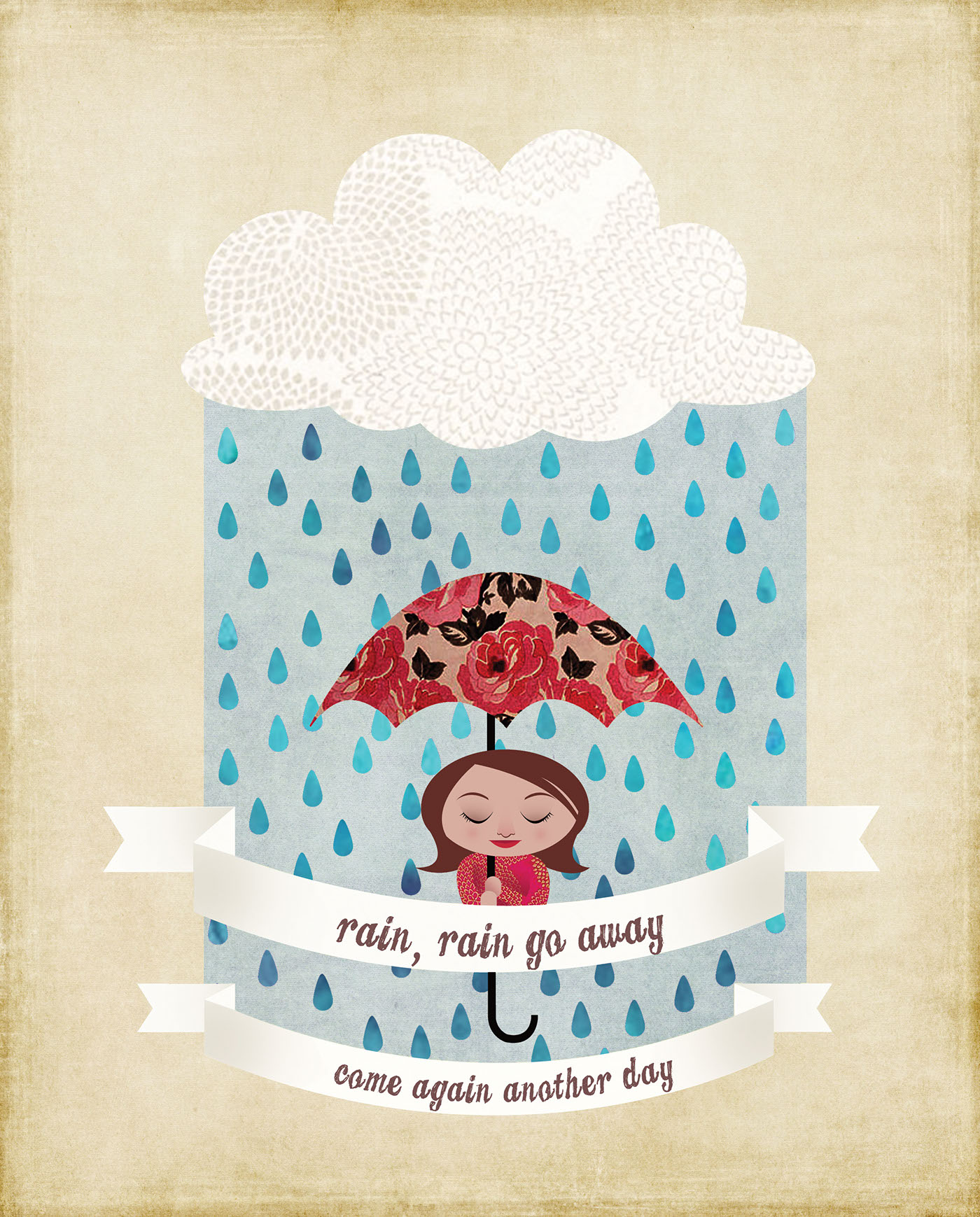 Rain Rain Go Away On Behance