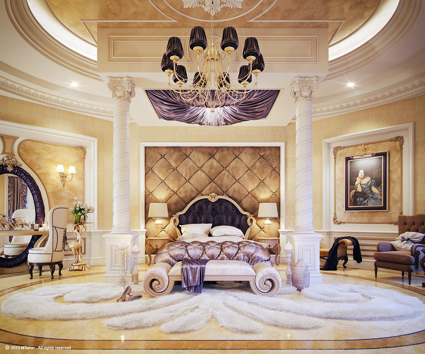"""Luxury """"Master Bedroom"""" on Behance on Luxury Master Bedroom  id=57812"""