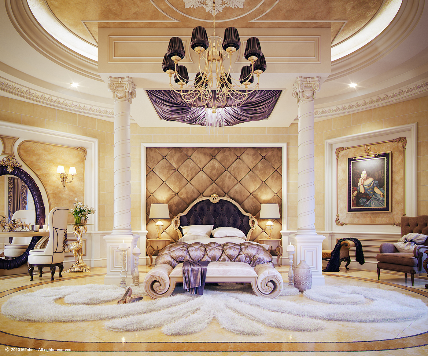 "Luxury ""Master Bedroom"" On Behance"