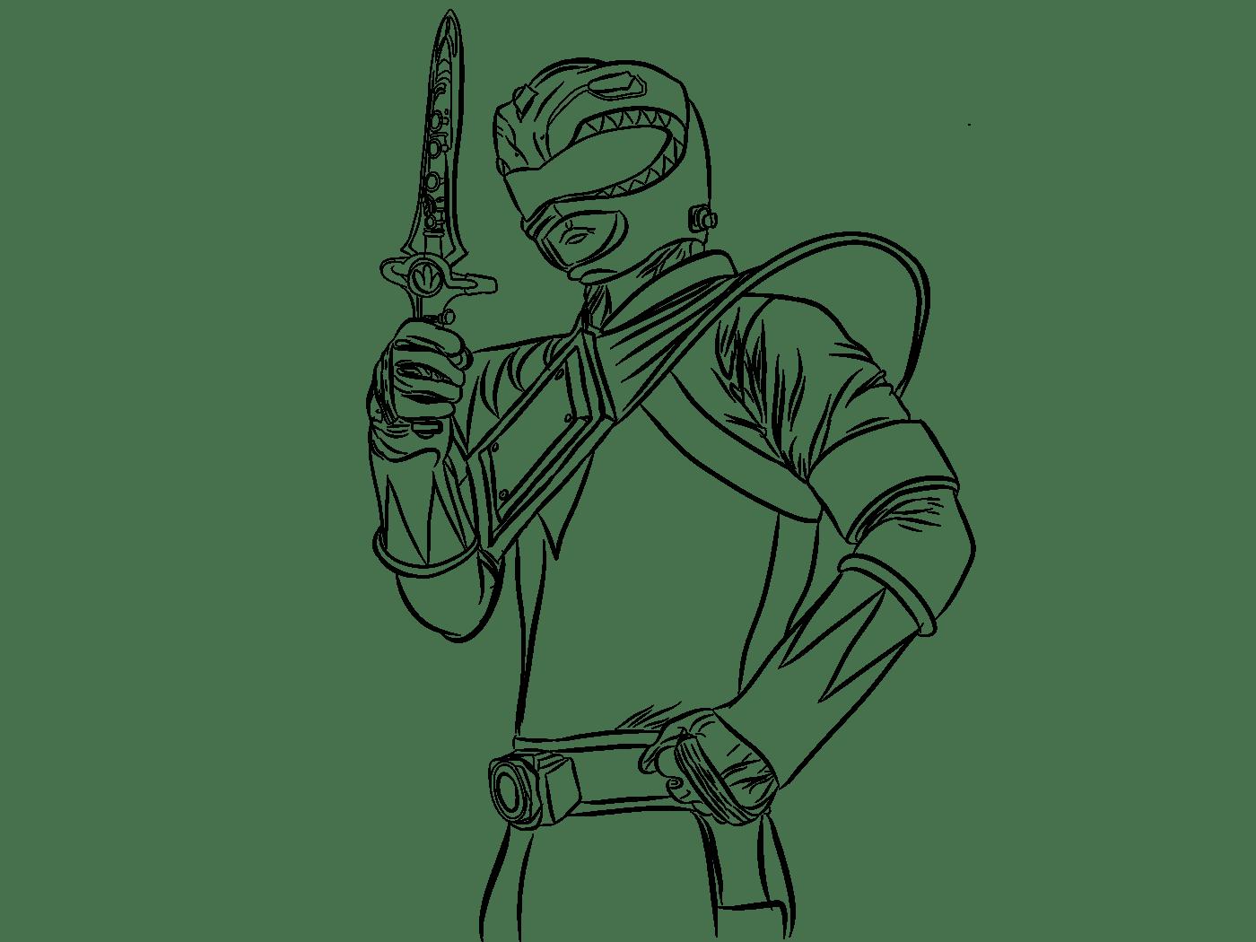 Green Ranger On Behance