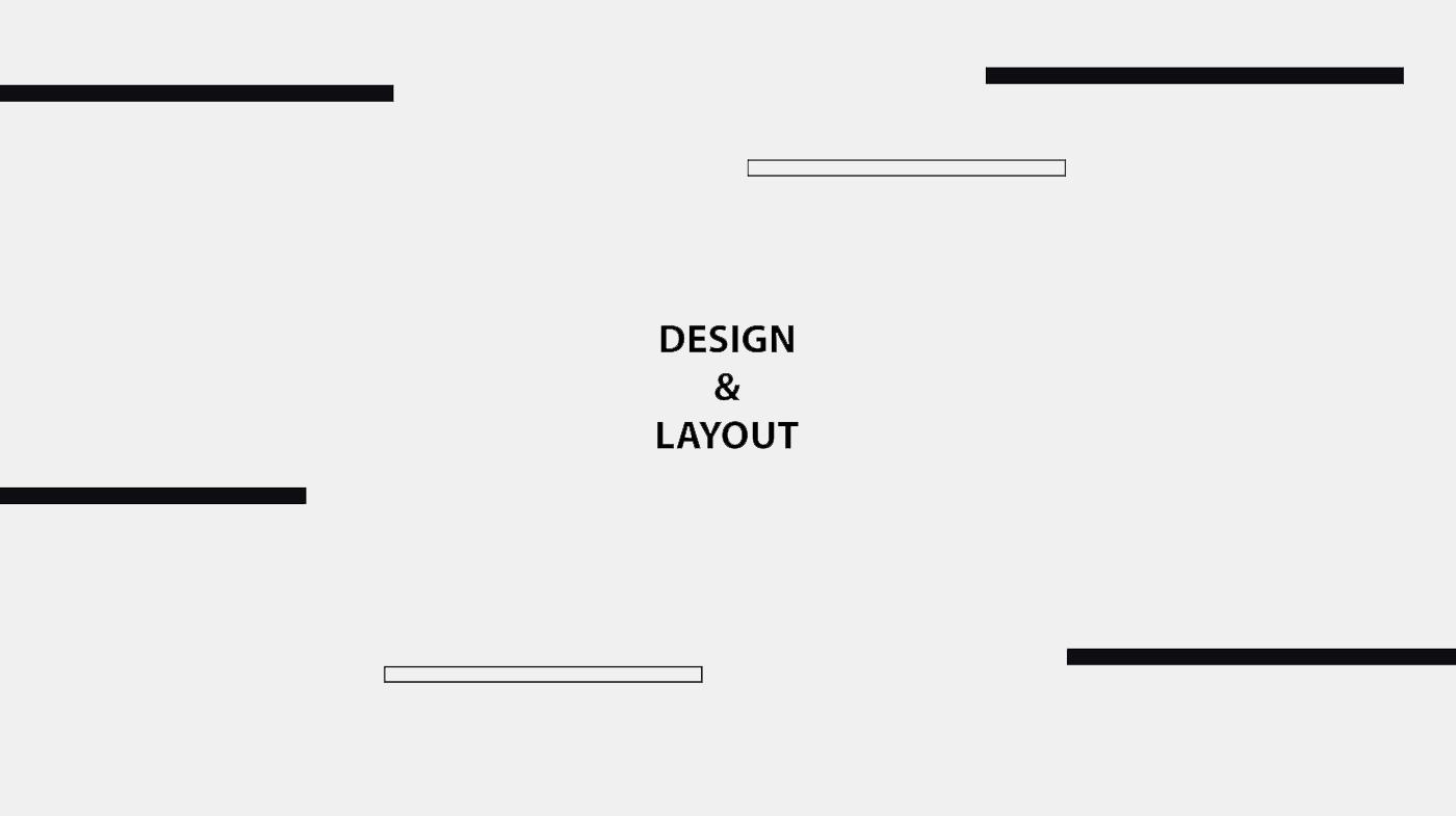 Design Amp Layout On Behance