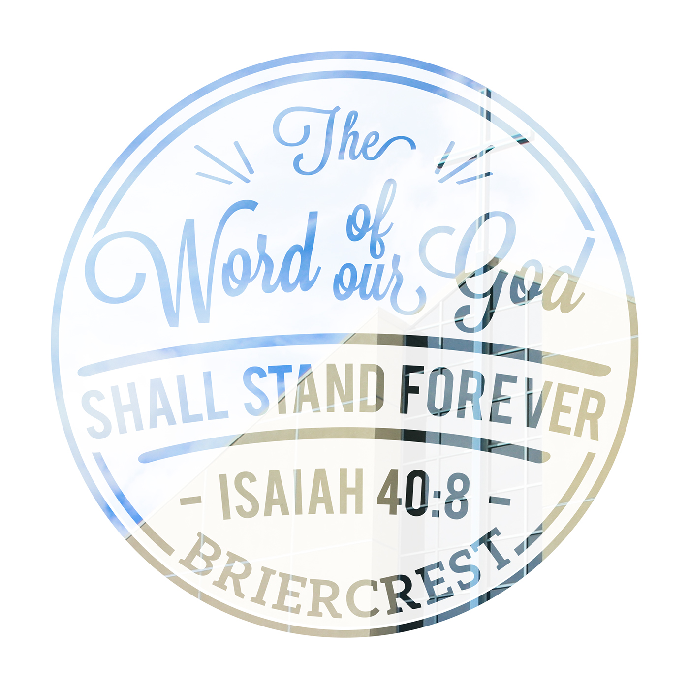 Isaiah 40 8 Seal Typography On Behance
