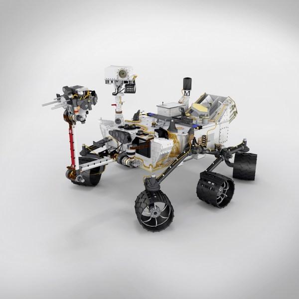 Curiosity Mars Rover 3D Model on Behance