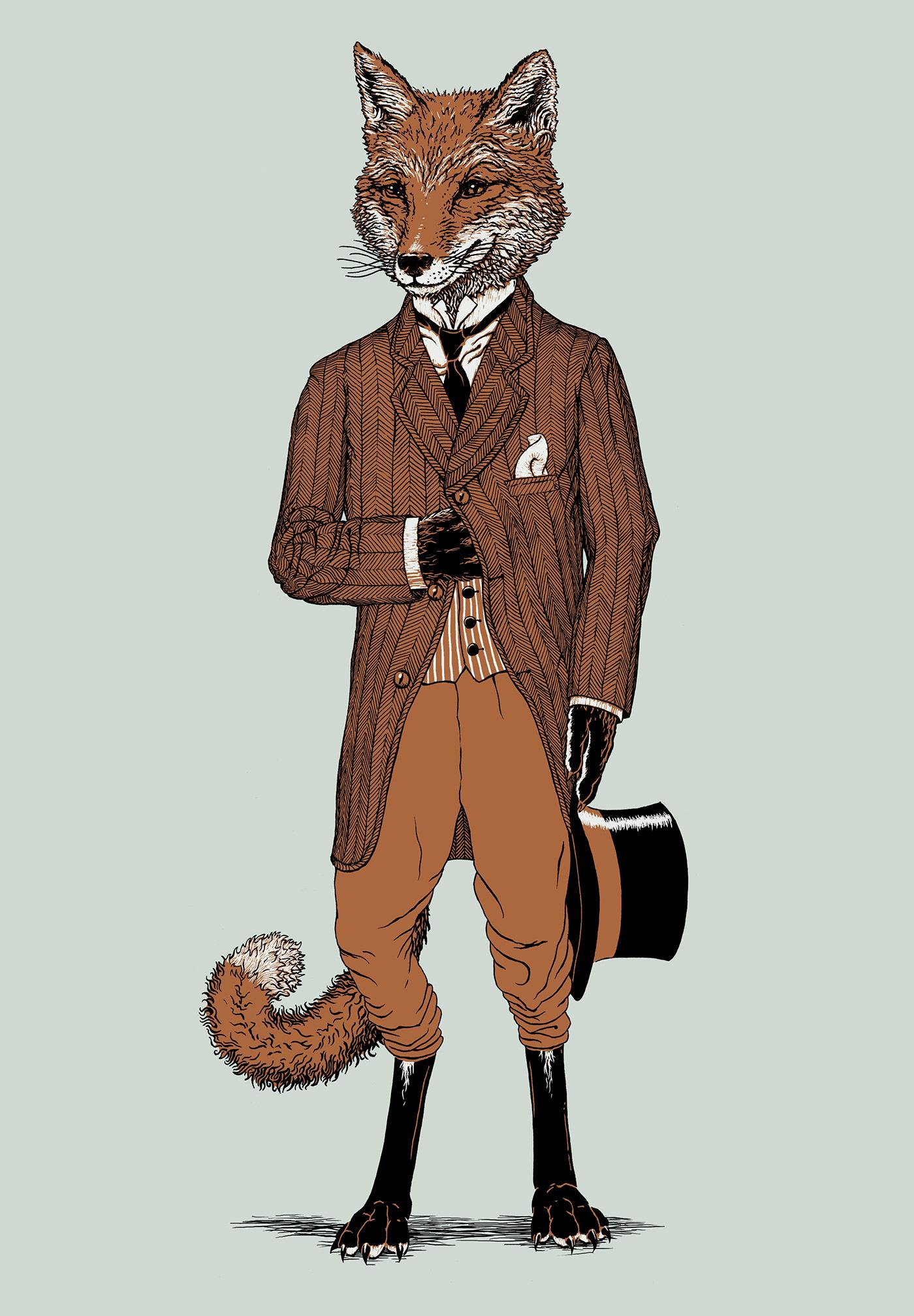 Dapper Fox on Behance