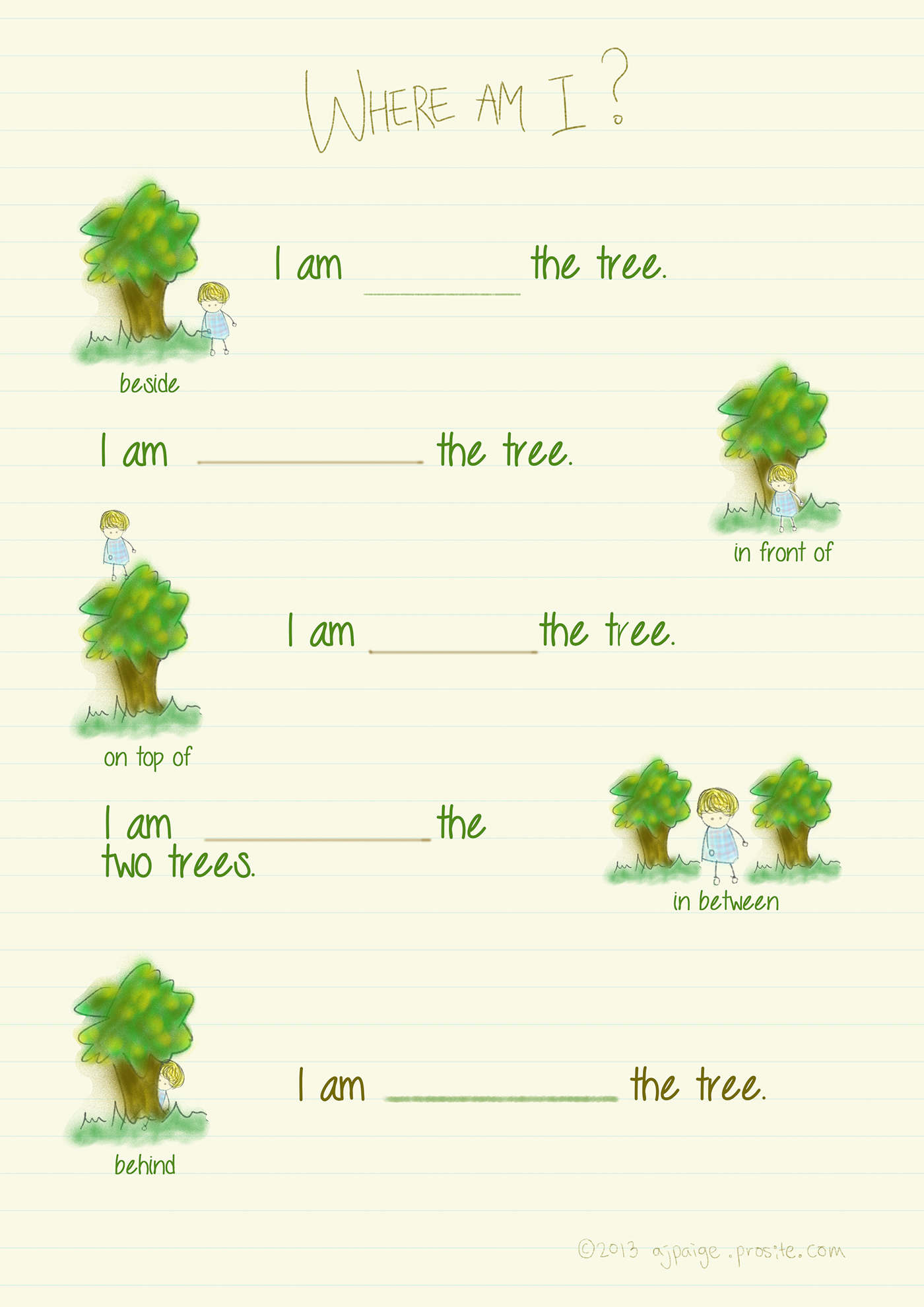 Children S Grammar Exercise On Behance