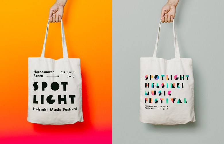 Spotlight Festival Identity Manitou Design 21