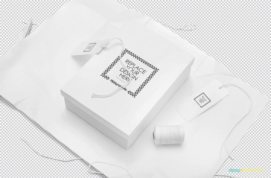 Download Free Rectangle Box Mockup PSD on Behance