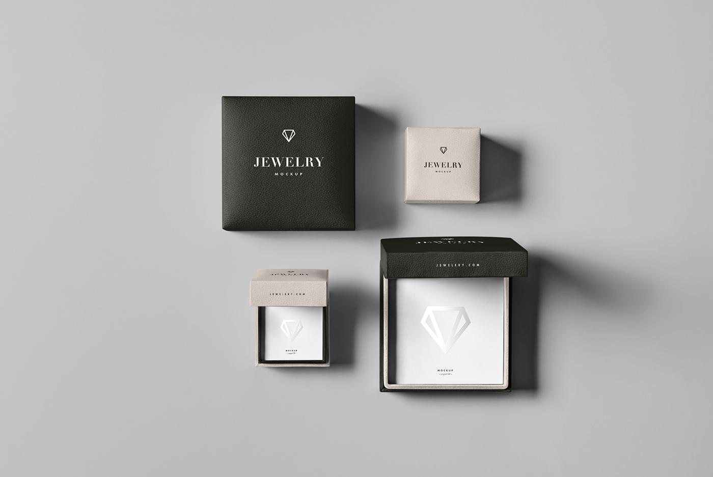 Jewelery Package Mock Up On Behance