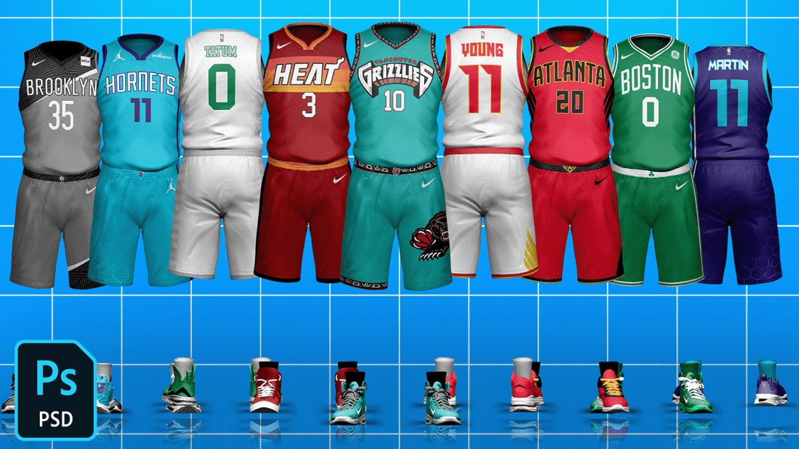 Download Basketball Jersey Mock-Up Templates on Behance