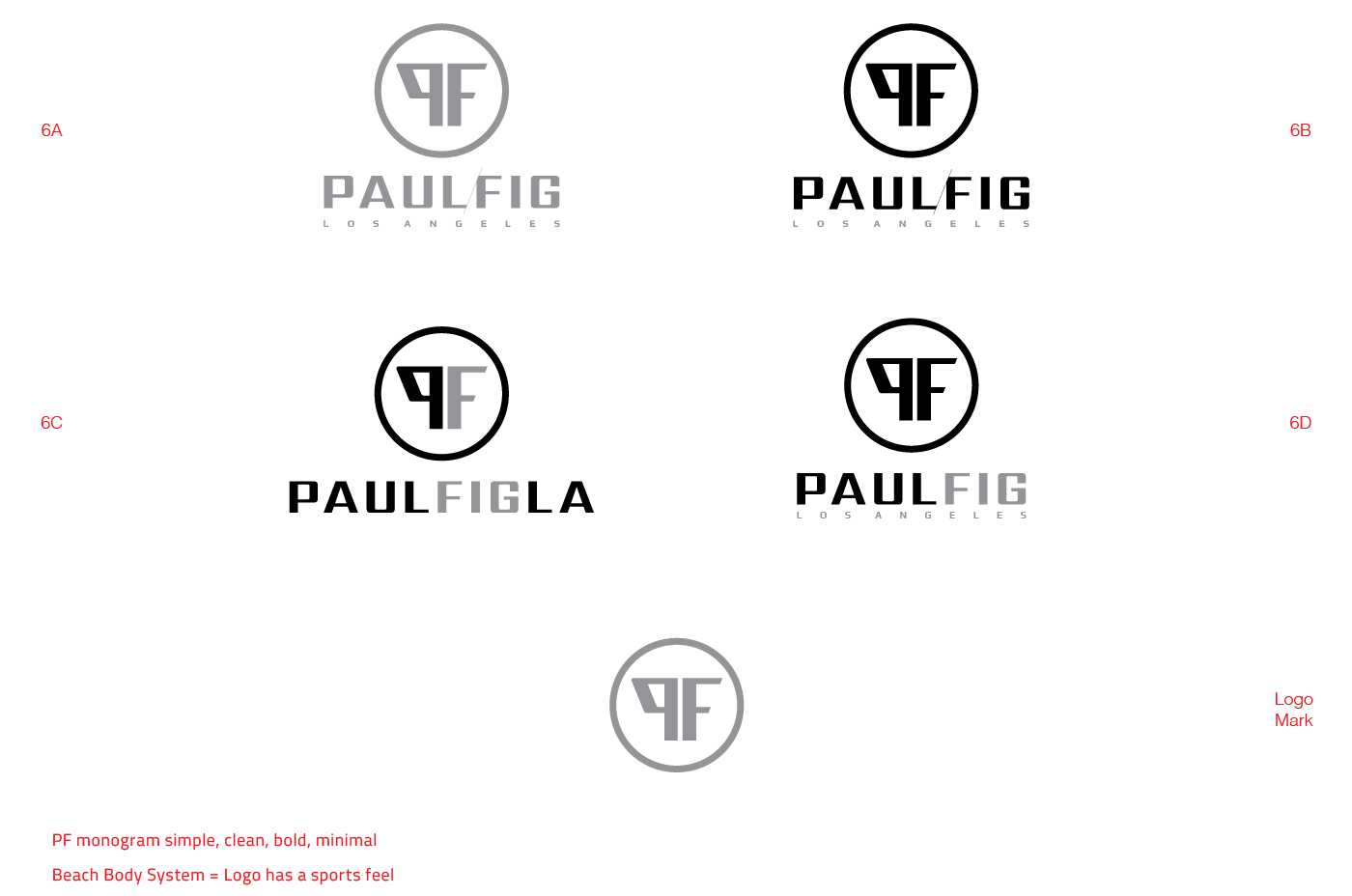 Paulfigla Brand Identity Logo Animation On Behance