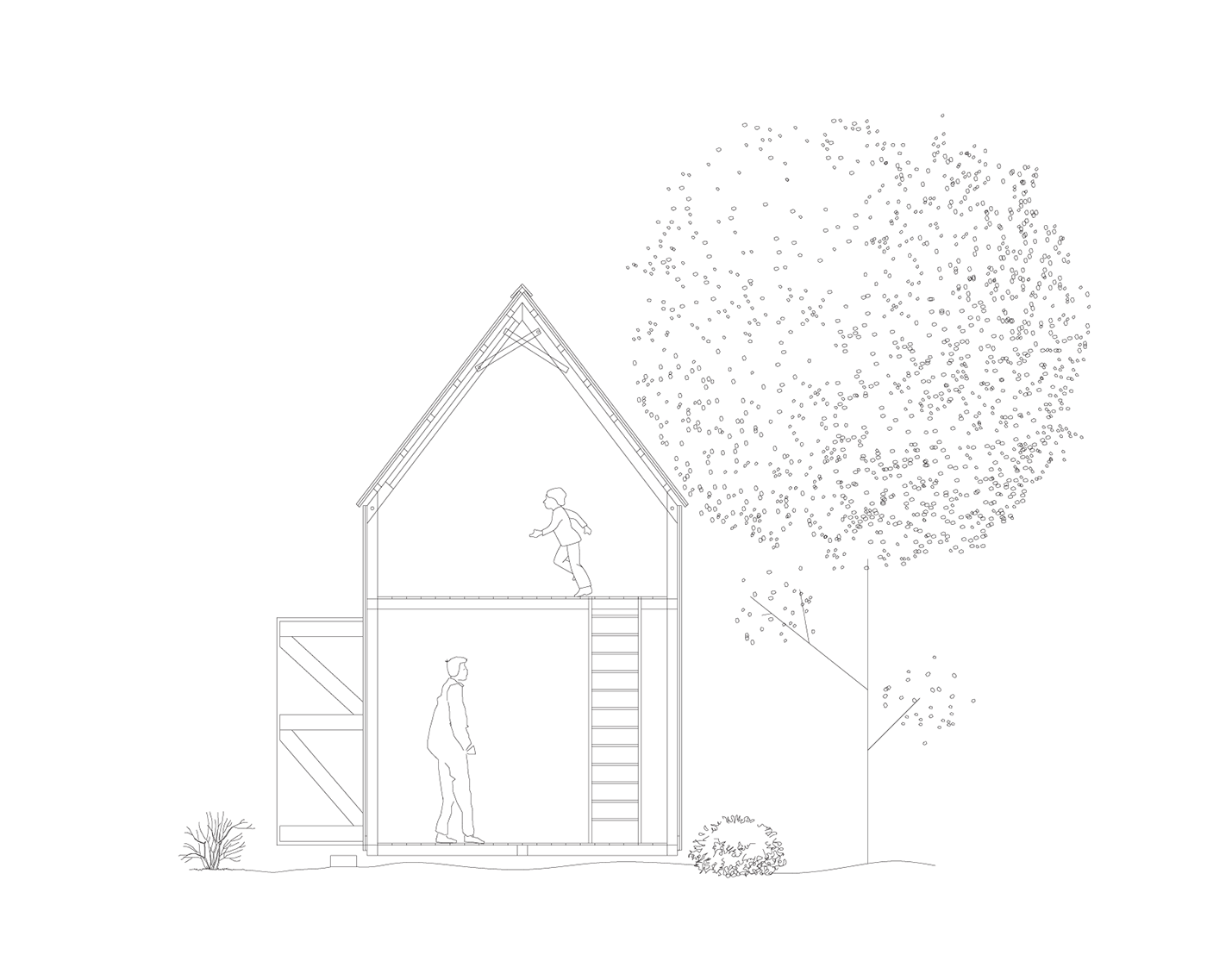 Tool Shed For My Dad On Behance