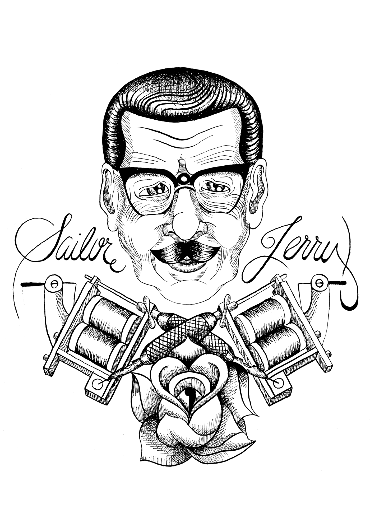 Indian Ink and Hatches on Behance