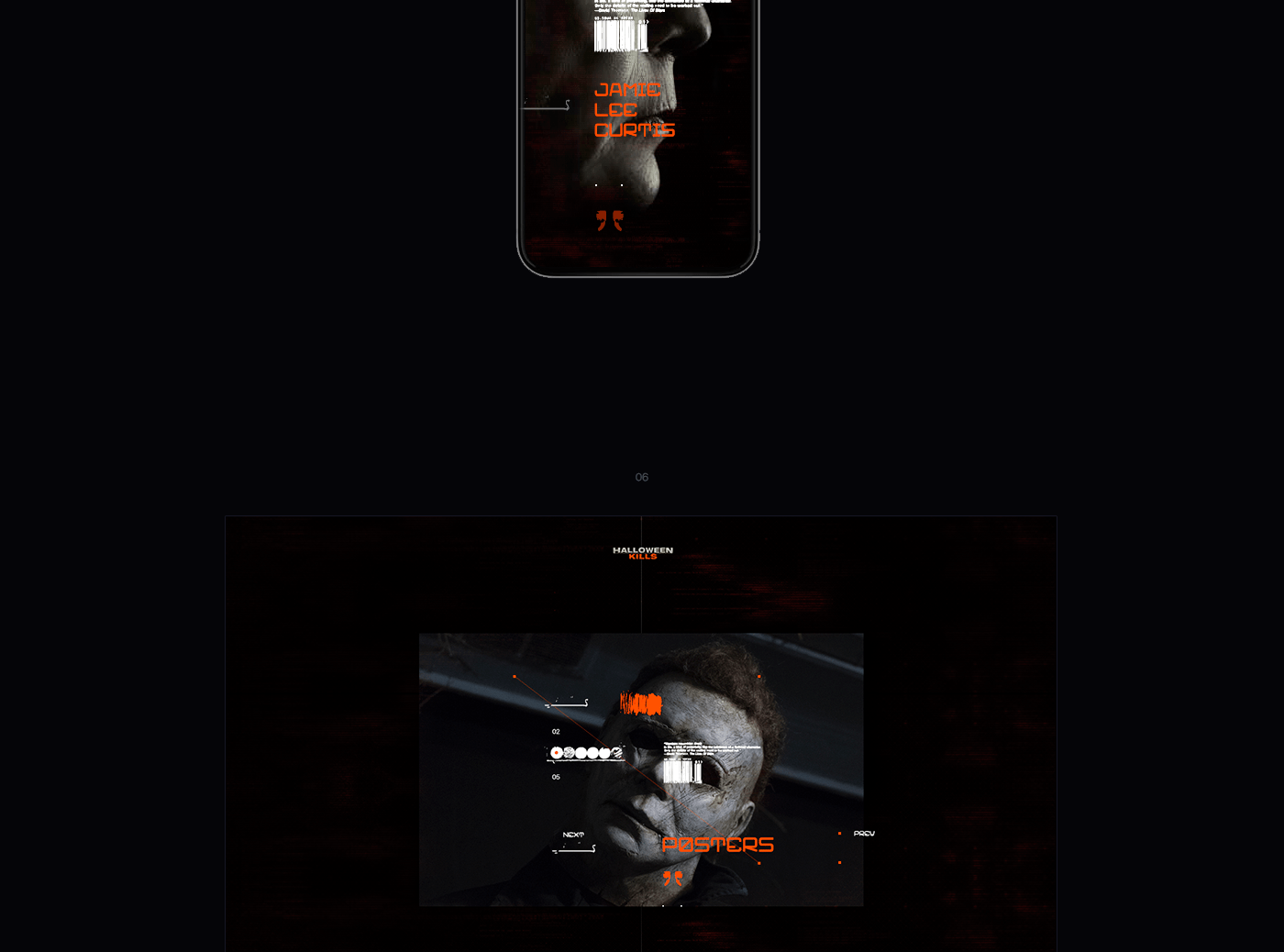 These spooky flicks make for great fun on o. Halloween - kills 2021 on Behance