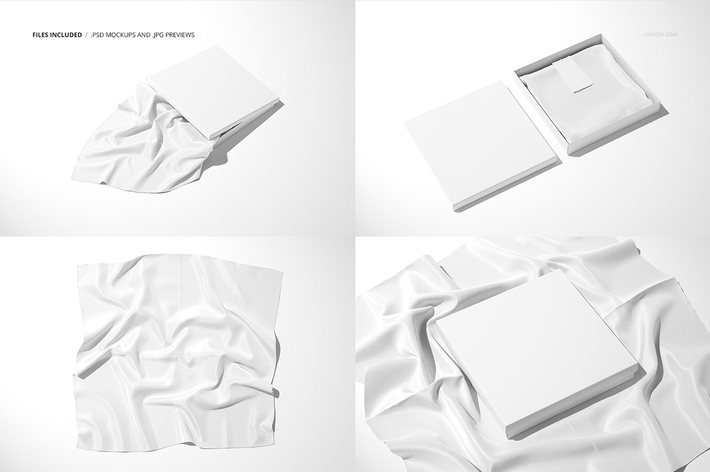 You can also see best tank top mockup templates. Silk Scarf Box Mockup Set 07 Ffv 12 On Behance
