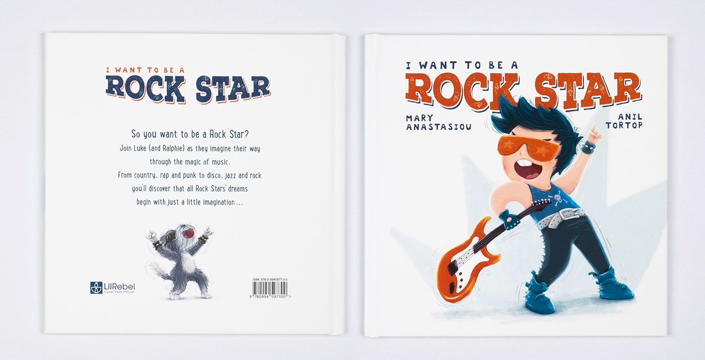 I Want to Be a Rock Star on Behance