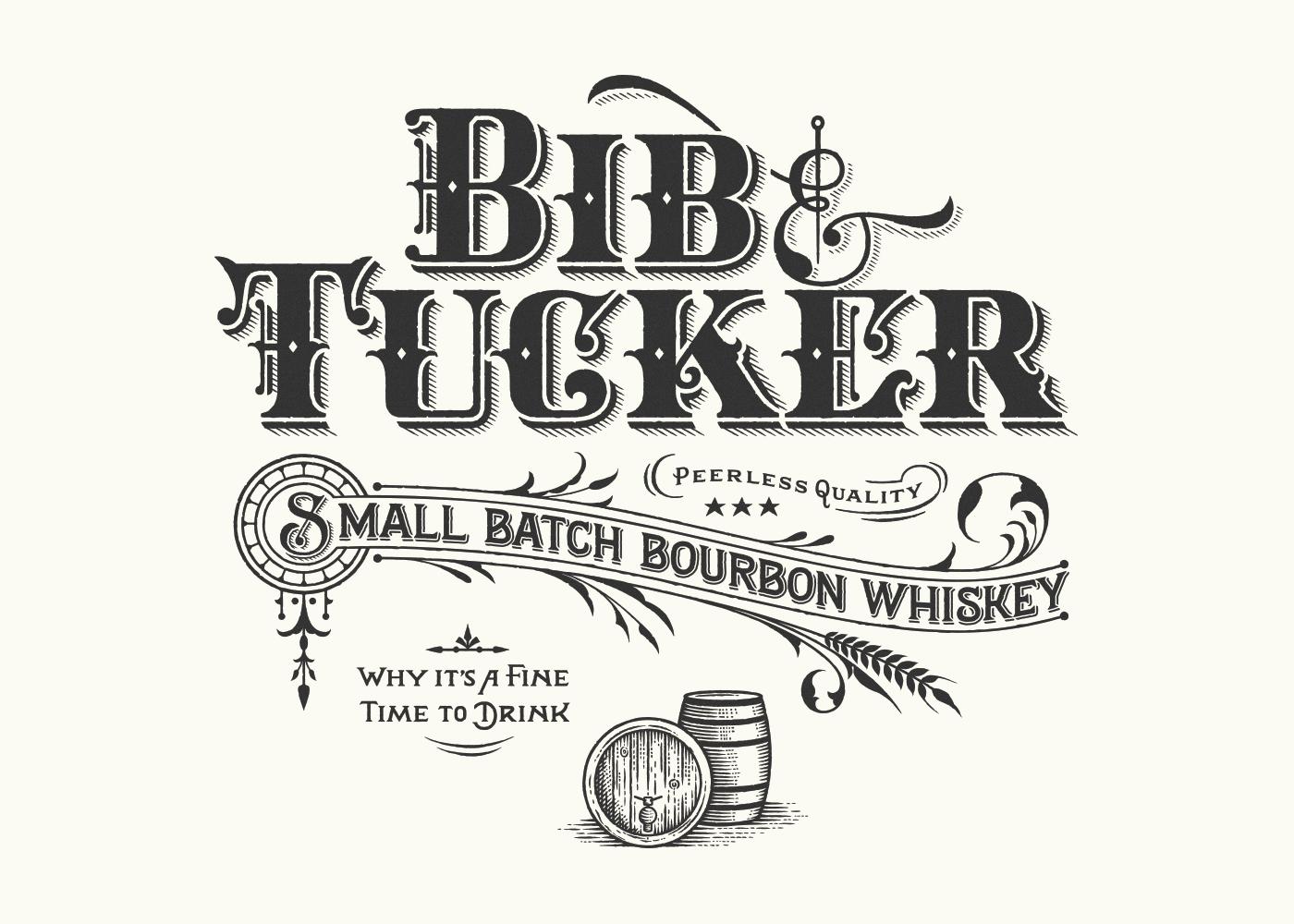 Bib Amp Tucker Bourbon On Behance