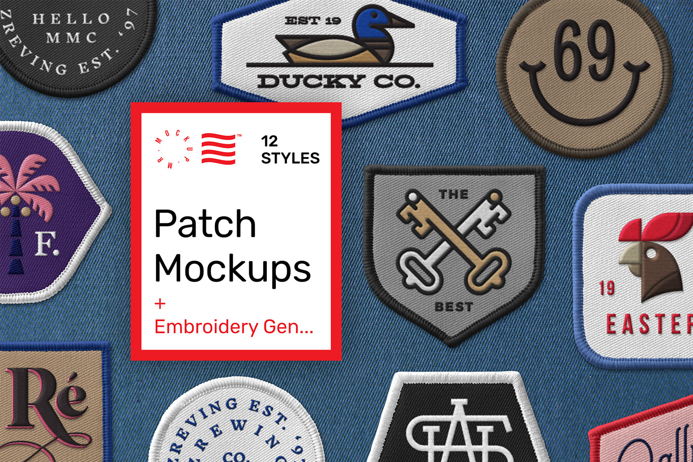 Have you made one of my instructables? Patch Mockups Embroidered Generator On Behance