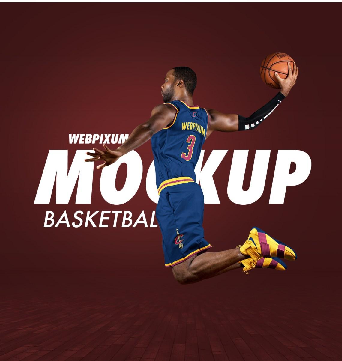 Download NBA Basketball Mockup Templates - FREE PSD Download on Behance