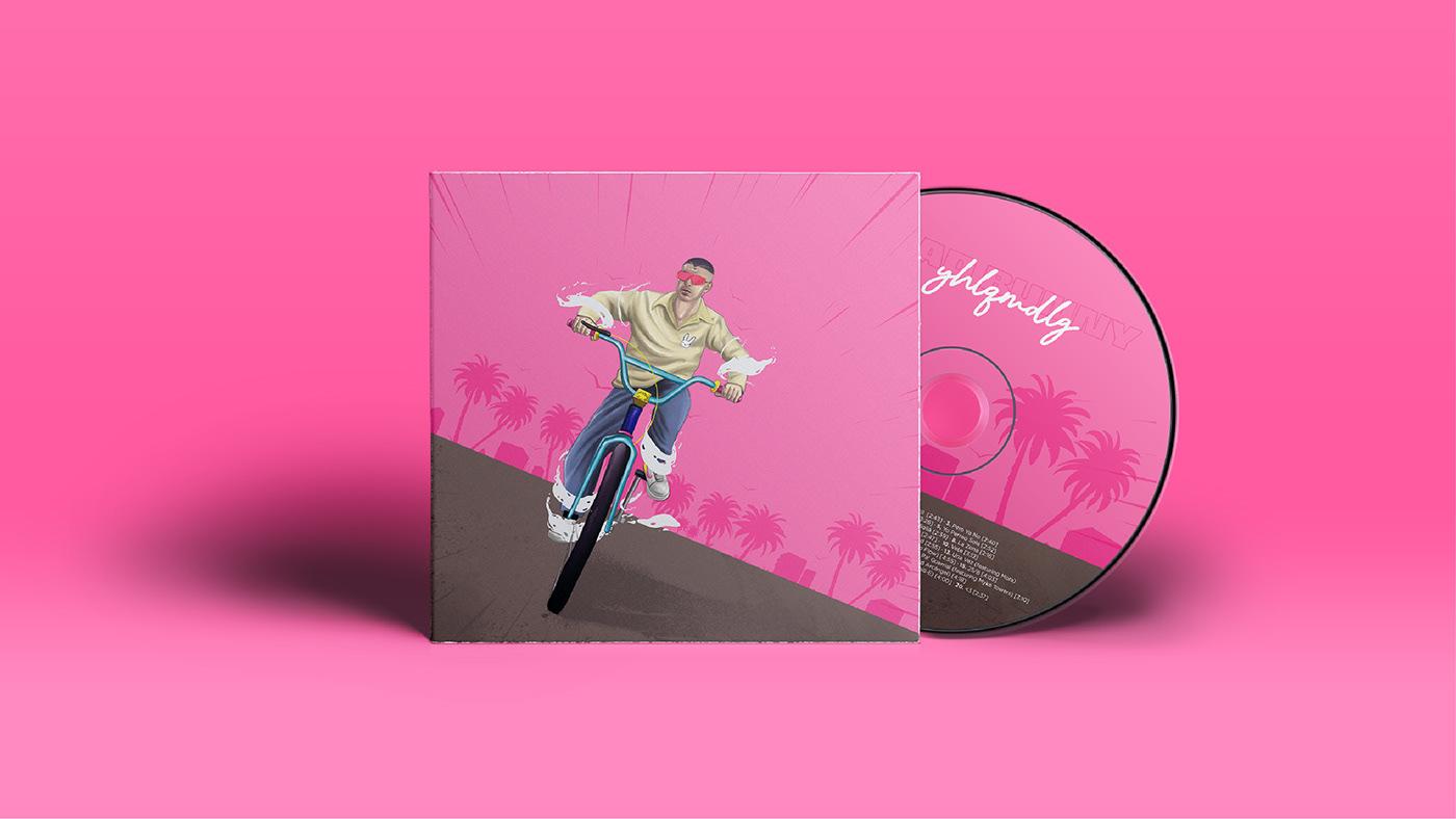bad bunny yhlqmdlg album artwork on