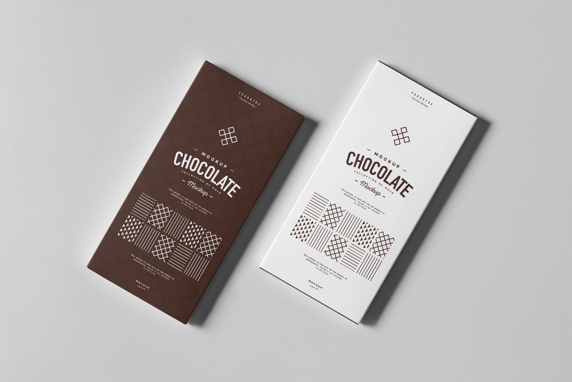 Download Chocolate Box Mock-up on Behance