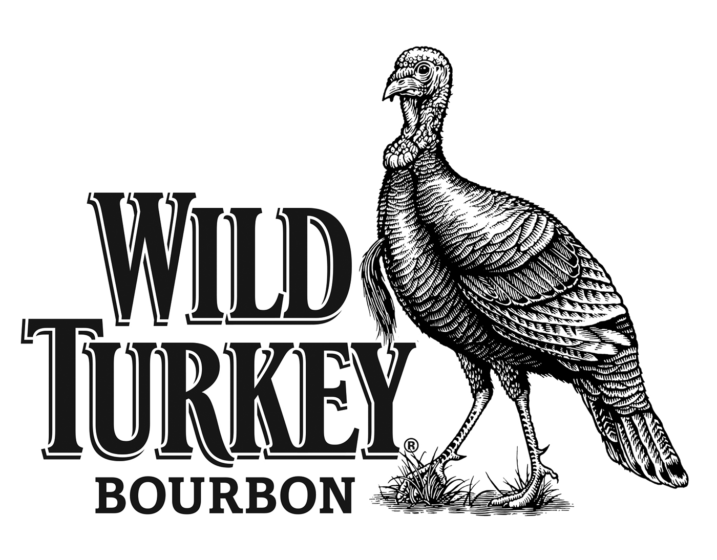 Wild Turkey Bourbon Illustrated By Steven Noble On Behance