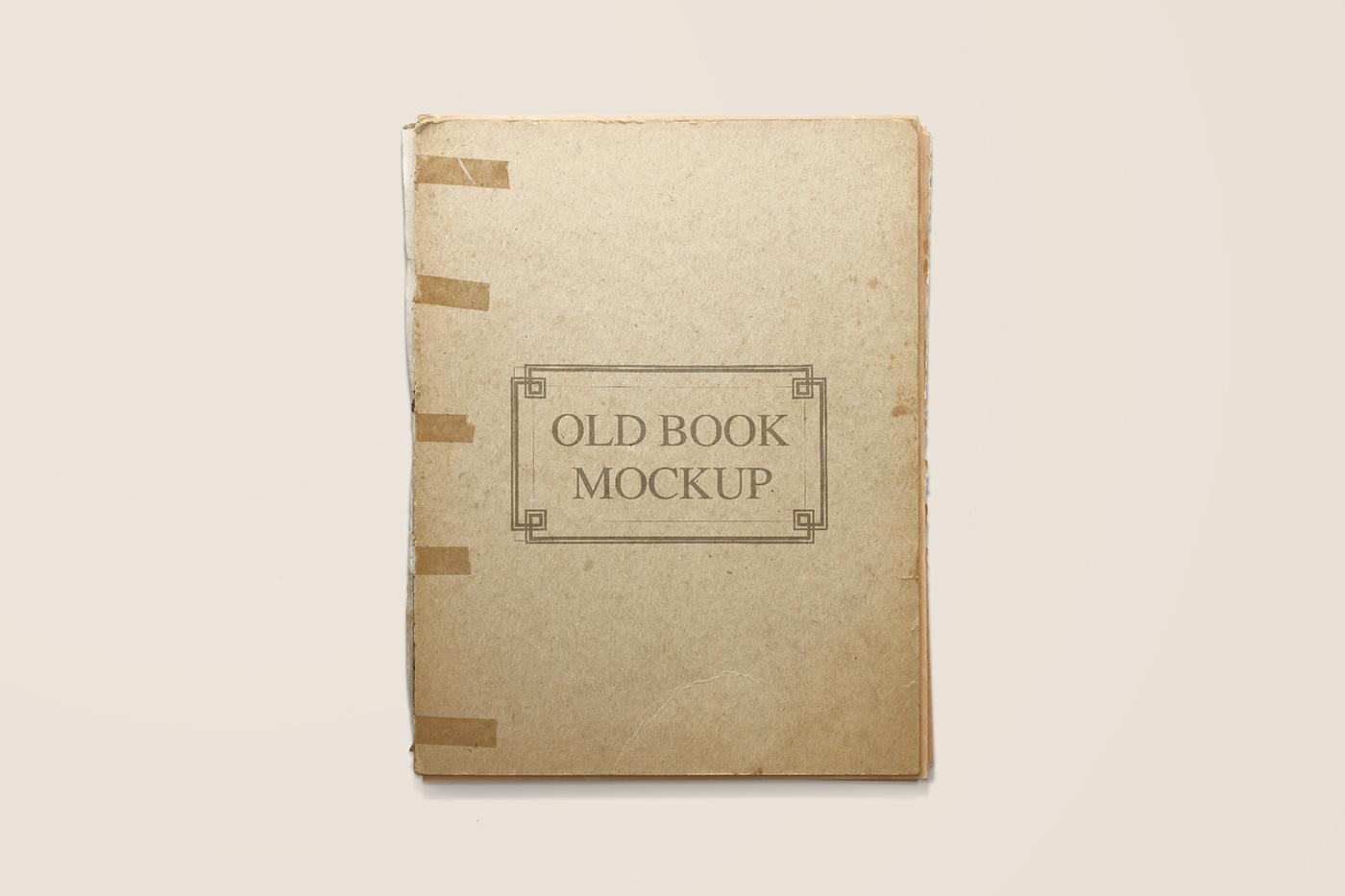 Old Book Mockup On Behance