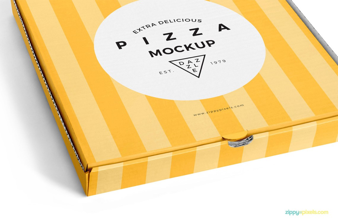 Download Delicious Pizza Box Mockup Free on Behance