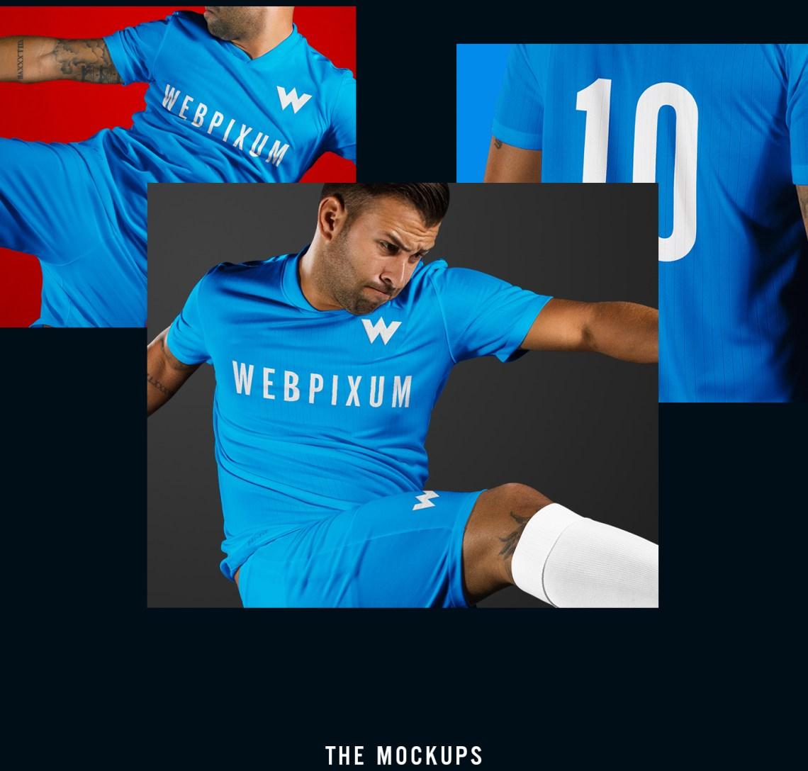 Download MLS Soccer Kit Mockups - FREE PSD on Behance