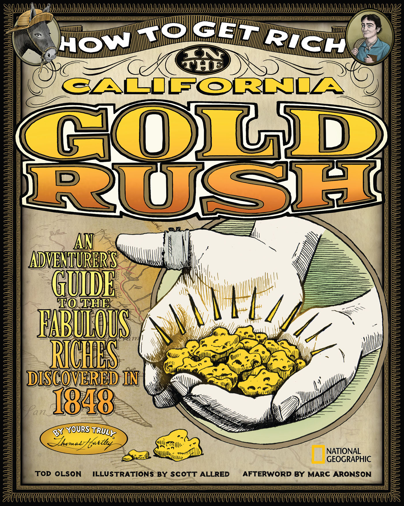 How To Get Rich In The California Gold Rush On Behance
