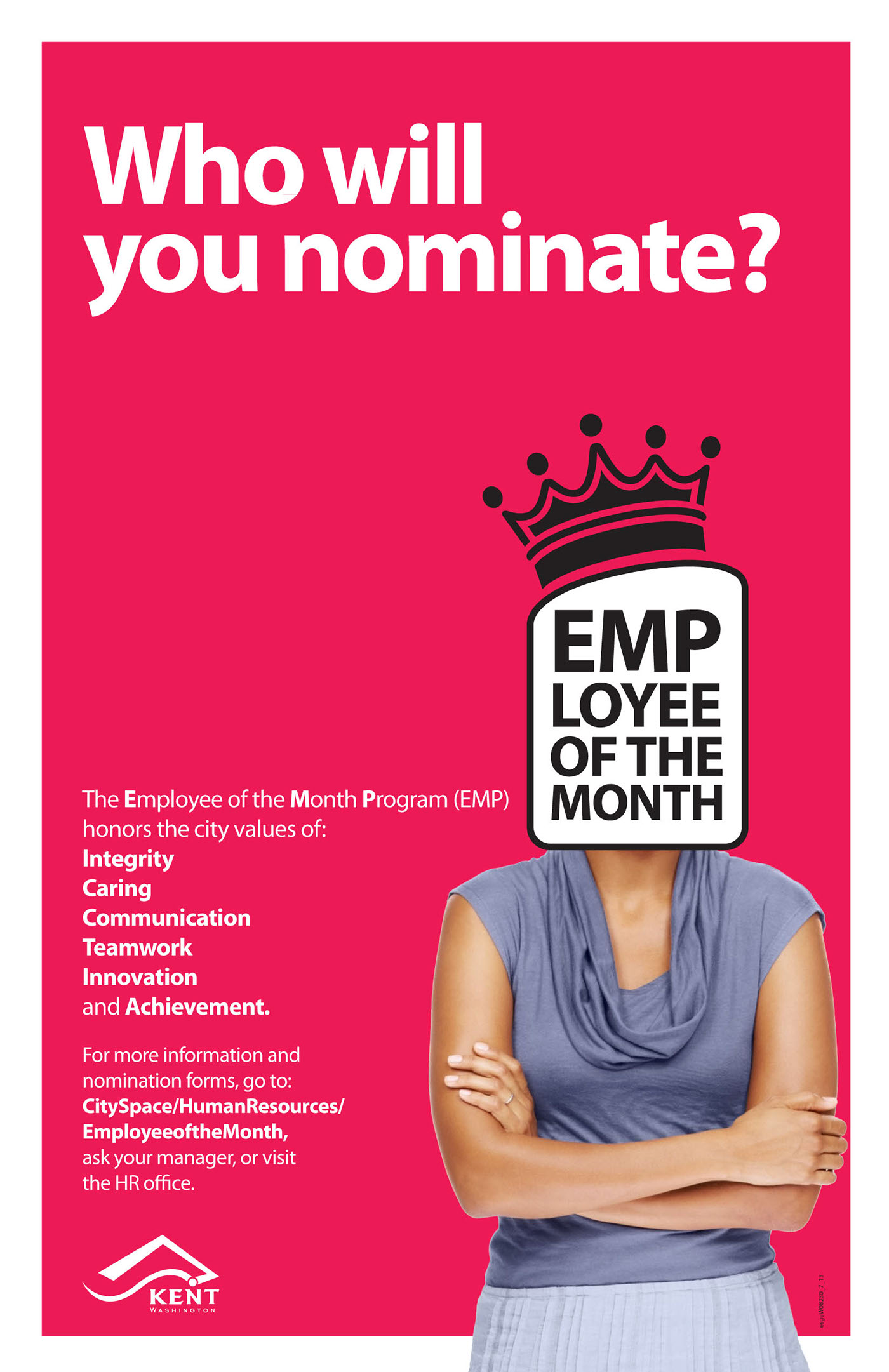 employee of the month on behance