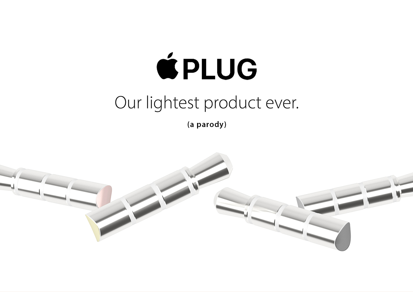 Apple Plug Our Lightest Product Ever On Behance