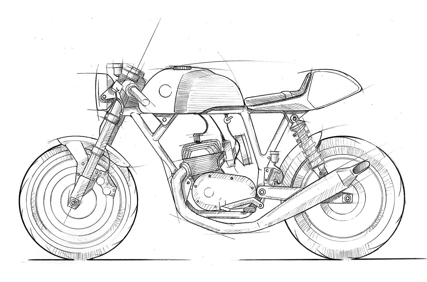 Montesa Cafe Racer On Behance
