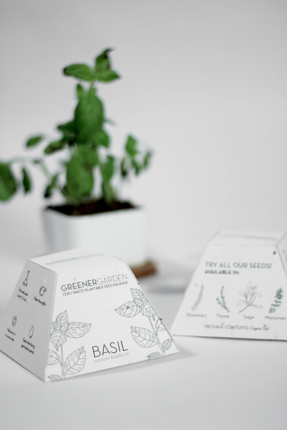 example of plantable packaging