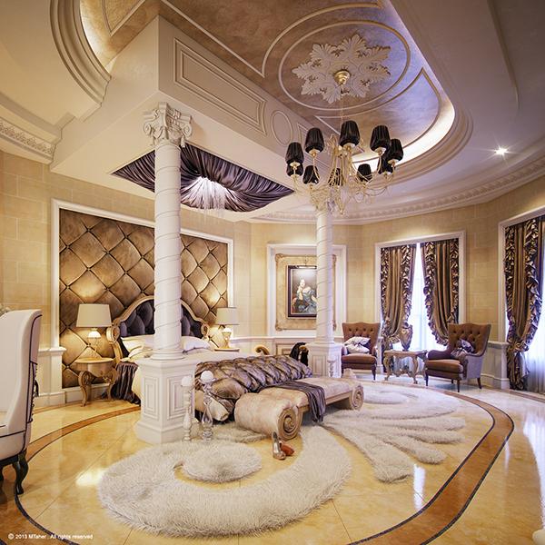 """Luxury """"Master Bedroom"""" on Behance on Luxury Master Bedroom  id=84680"""