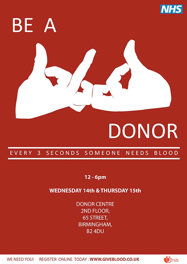 Give Blood On Behance