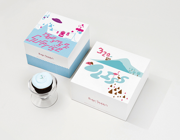 Download Cake Box Packaging design on Behance
